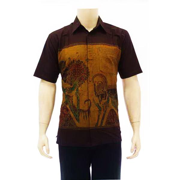 Desain Kemeja Batik - Motif Batik Wayang | Jual Kemeja Batik Pria ...