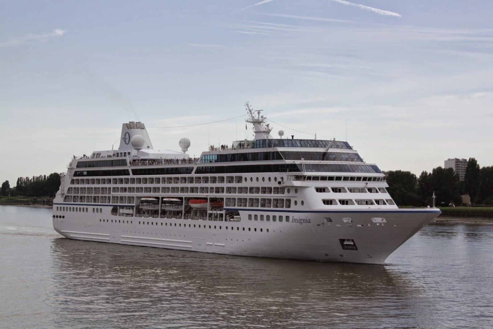Cruiseschepen in Antwerpen: Oceania Cruises' Marina & Insignia in ...