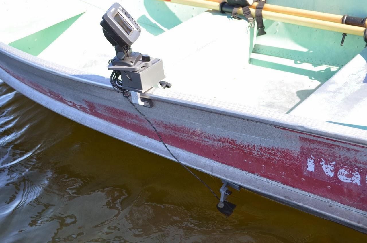 fish finder and transducer mounting solutions: january 2014, Fish Finder