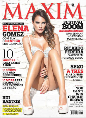 Elana Gomez goes topless for Maxim Portugal - Beautiful Female Photos