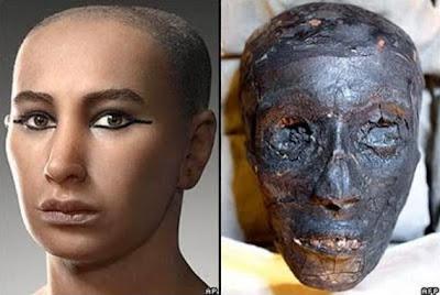 Lelaki Eropah Keturunan Firaun