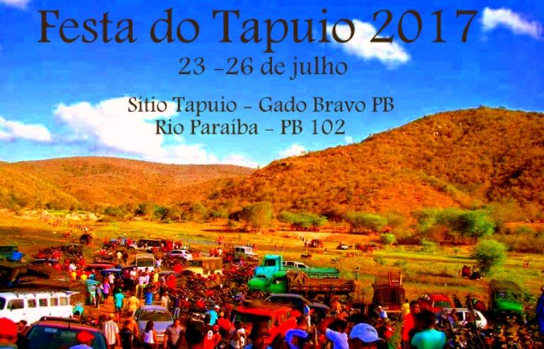 Festa do Tapuio 2017