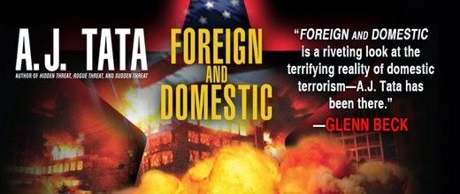 Thriller Fiction author, A.J. Tata