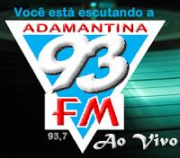 Rádio 93 FM de Adamantina ao vivo