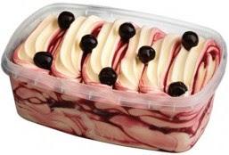Clo 39 s sensuous delights glace marbr e au mascarpone vanille et amarena sans sorbeti re - Faire une glace sans sorbetiere ...