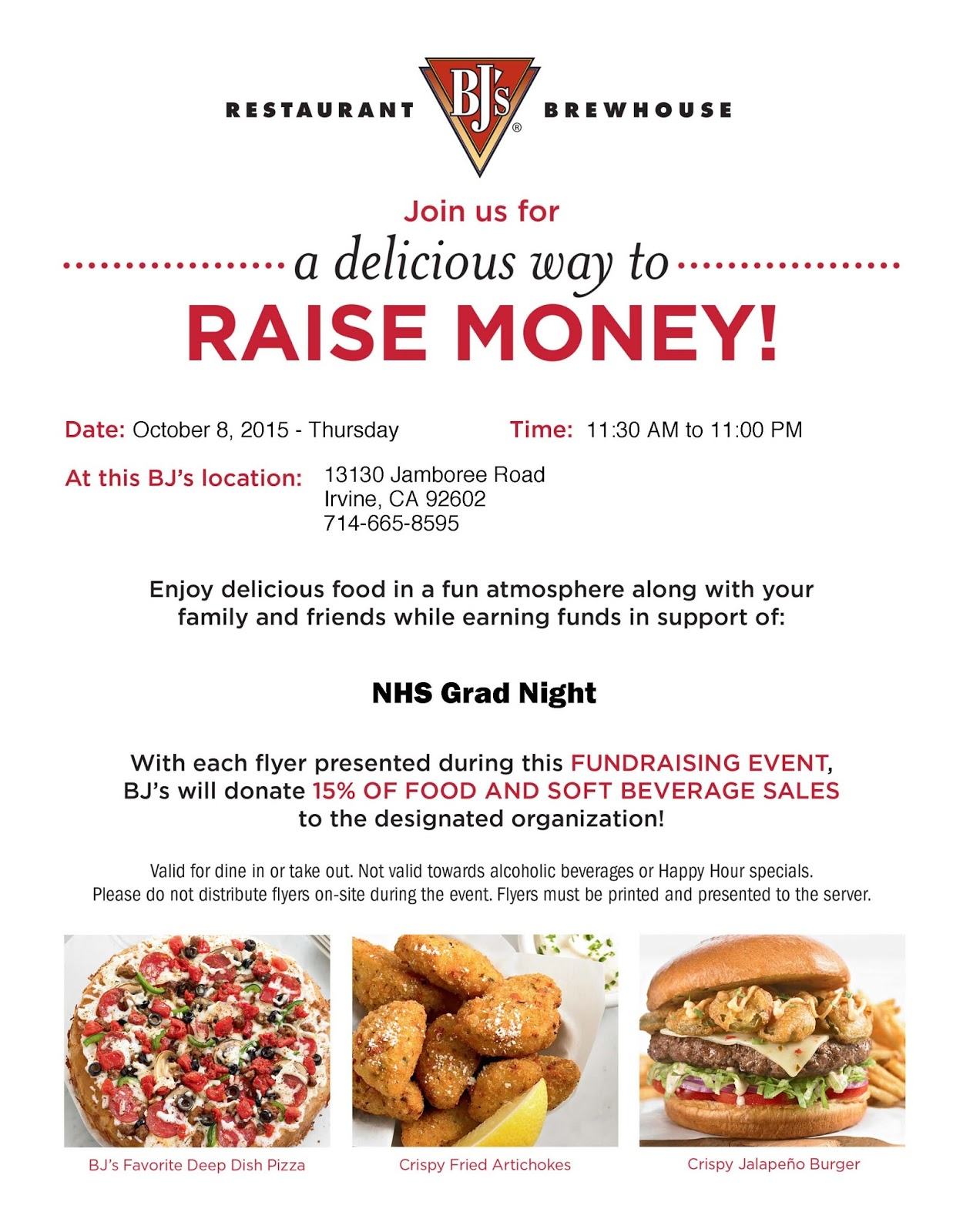 restaurant night fundraiser flyer people davidjoel co