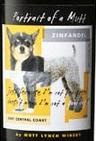 bottle label, Portrait of a Mutt Zinfandel