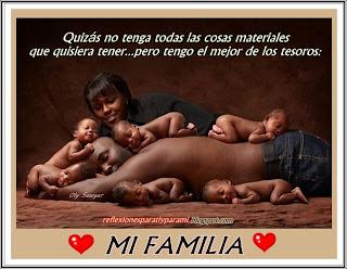 ADORO A MI FAMILIA !!! ♥♥♥ Mi más grande tesoro !!!