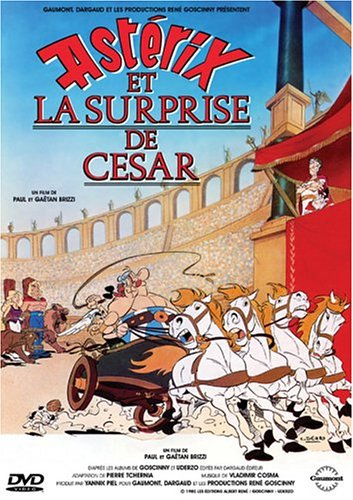 Astérix y la sorpresa del César (1985)