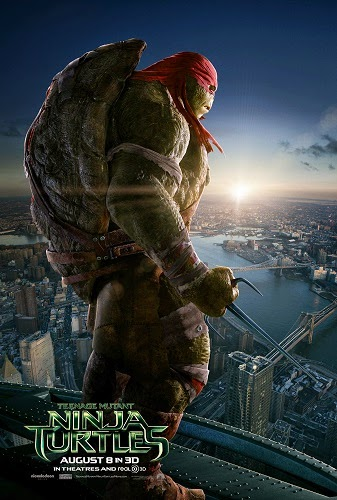 Film Teenage Mutant Ninja Turtles 2014 di Bioskop