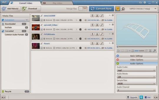تحميل برنامج تحويل الفيديوهات لجميع الصيغ مجاناً Any Video Converter 5.0.9