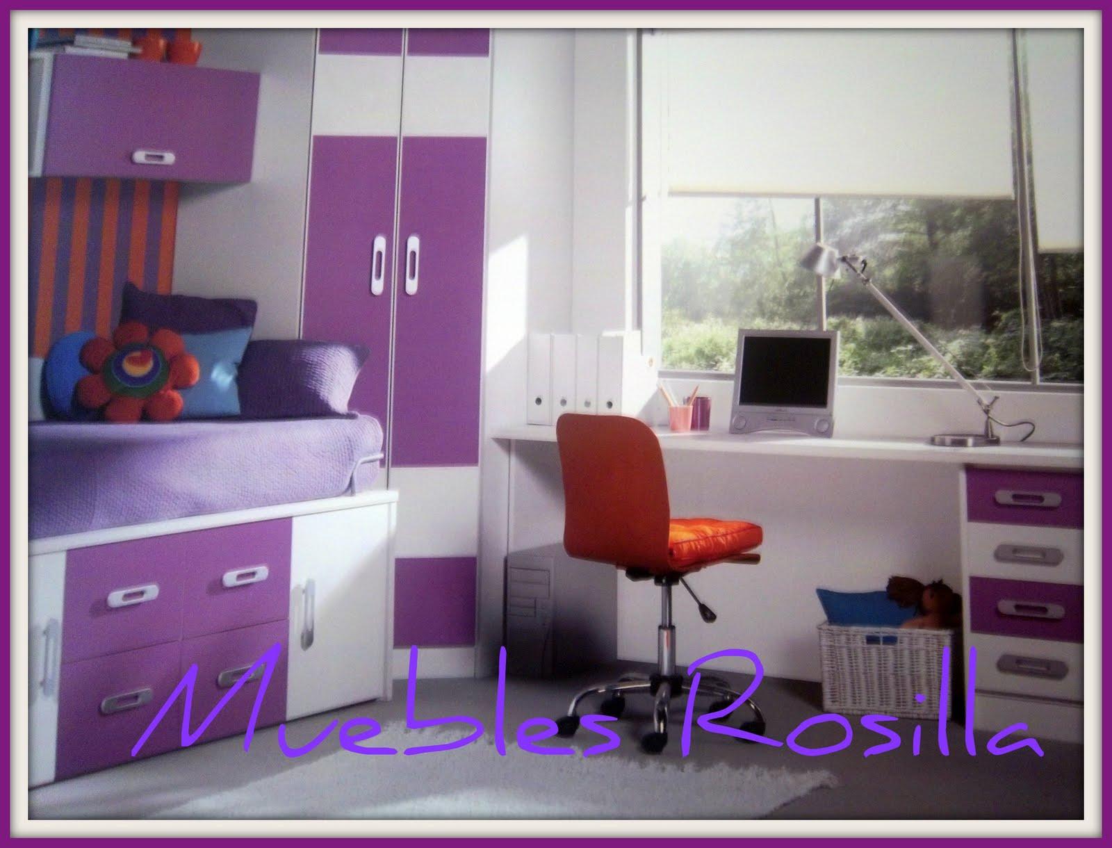 Muebles dormitorios juveniles dise os arquitect nicos - Habitaciones juveniles muebles rey ...