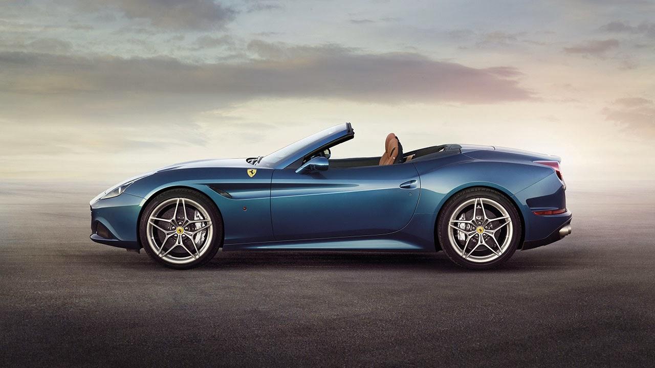 Ferrari California T side unopened