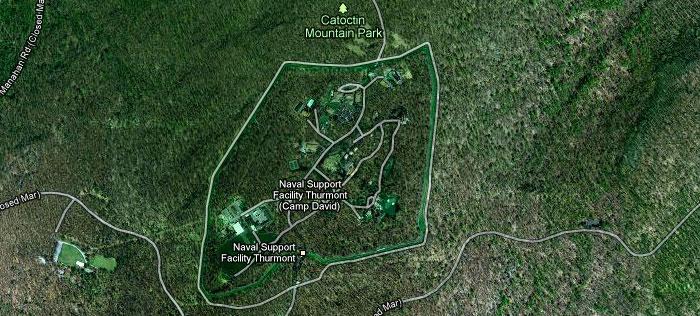 About Camp David Maps