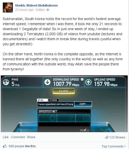 Benarkah Korea Selatan Memiliki Capaian Internet Terpantas Di Dunia ??