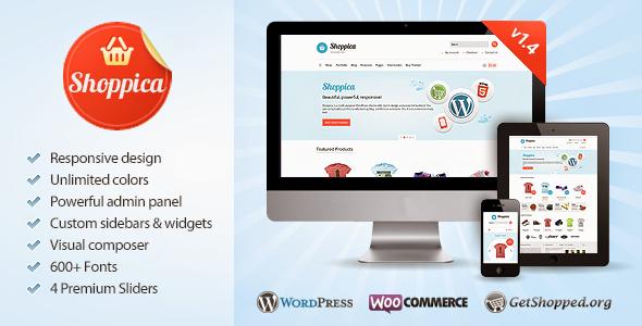 Shoppica – Responsive E-commerce WordPress Theme