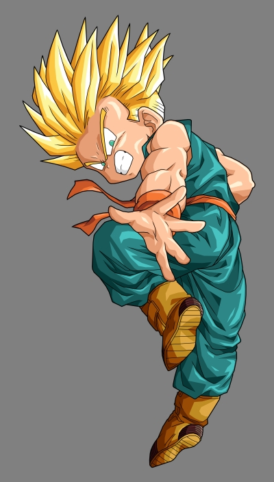 dragon ball z trunks super saiyan 4