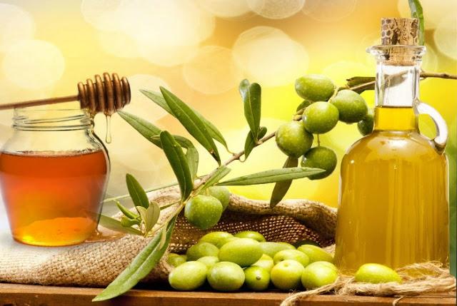 Manfaat Madu dan minyak zaitun untuk kecantikan