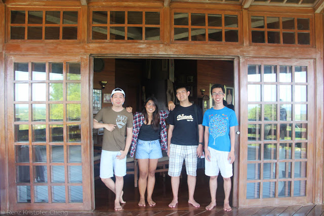 Renz Cheng, Roan Silverio, Shawn Lim and Kyle Velasco in Palawan