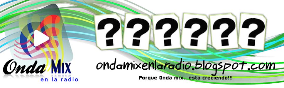 Onda mix en la Radio