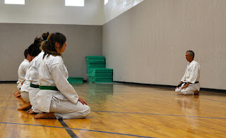Cedar Ridge Academy Therapeutic Boarding School Karate Therapy in Martial Arts