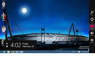 2013 Juventus Fc Theme For Windows 8, Nuovo Stadium Wallpaper