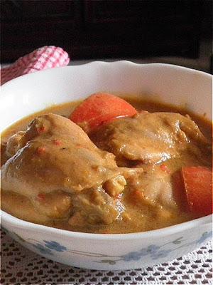 Chicken Korma Recipe  @ http://treatntrick.blogspot.com