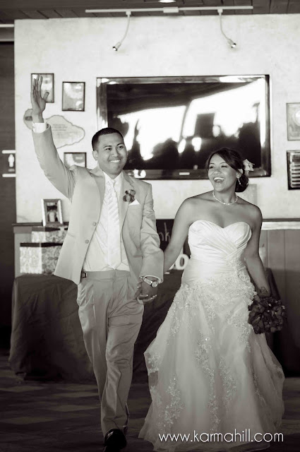 LA Lakers meets Tropical Ballroom Wedding Mark and Stephanie 39s Maui
