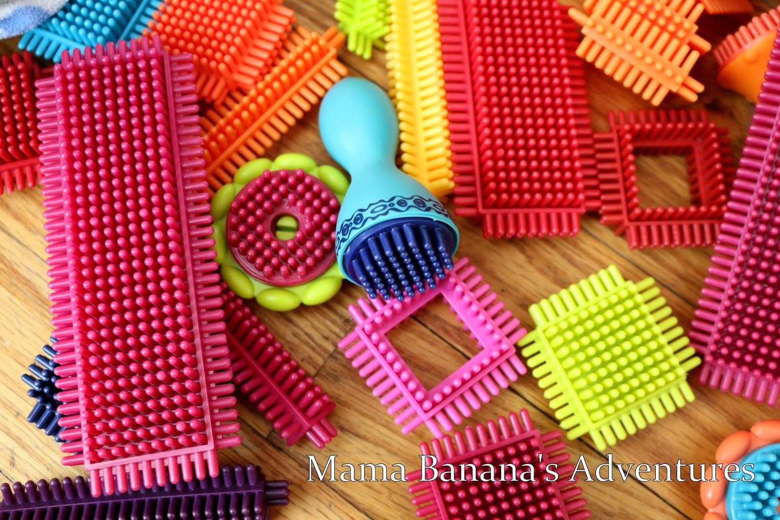 B. Toys Bristle Block Stackadoos Review – Mama Banana's ...