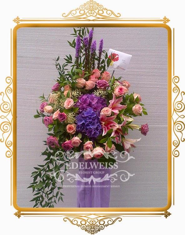 bunga standing flowers elegant
