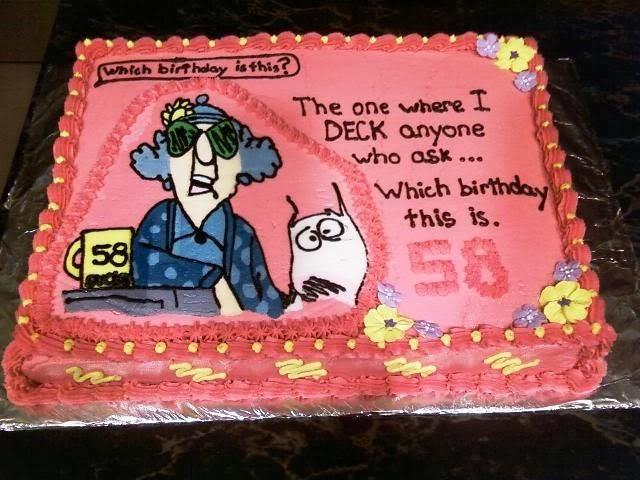 40th birthday cake slogans