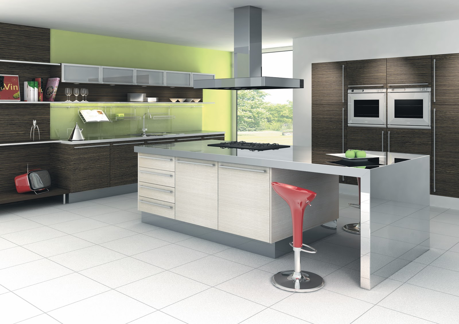 model dapur minimalis ala chef terkenal