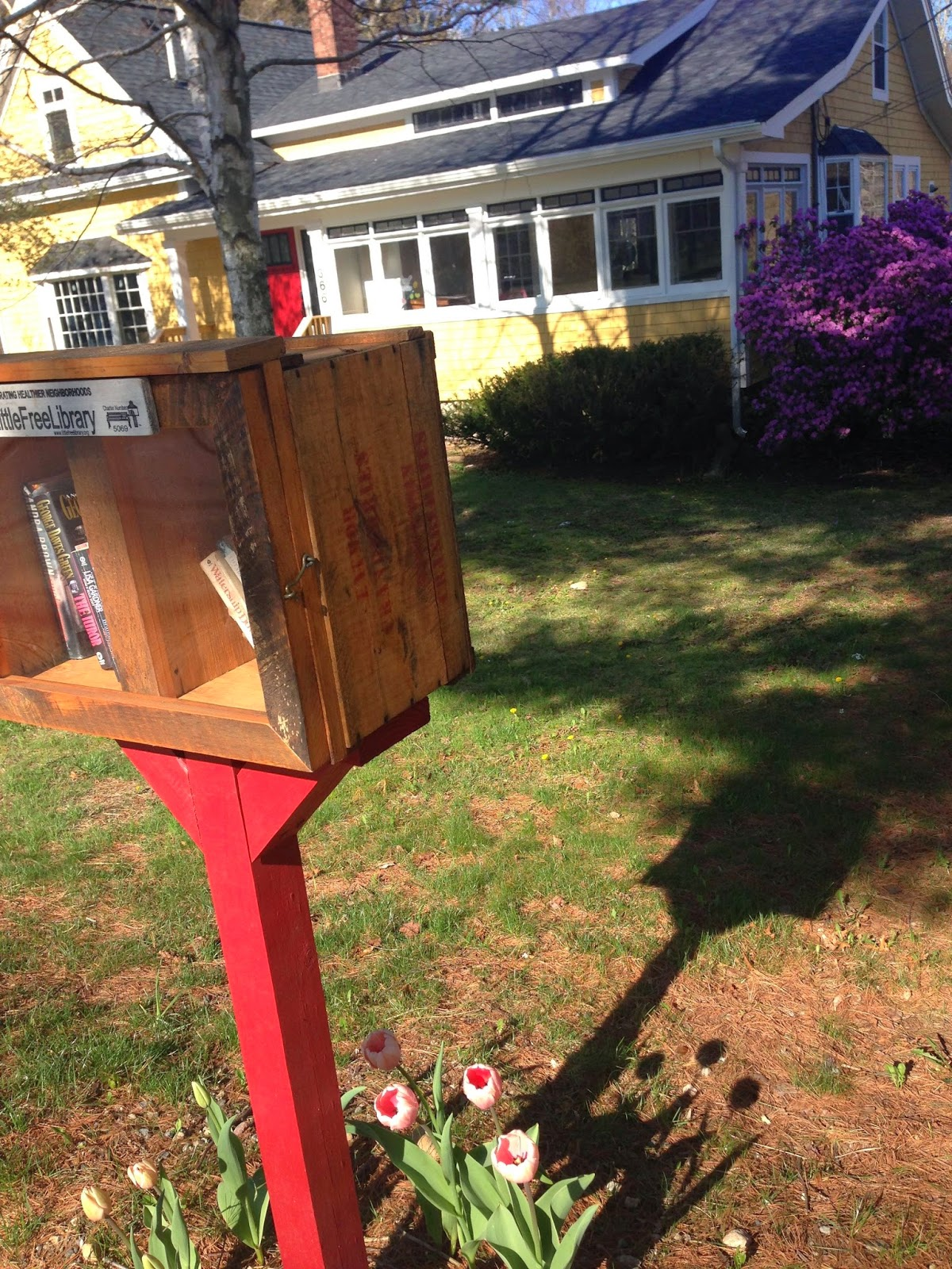 Little Free library - Lincoln St