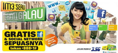Komunikasi Lengkap Seharian Bersama Indosat