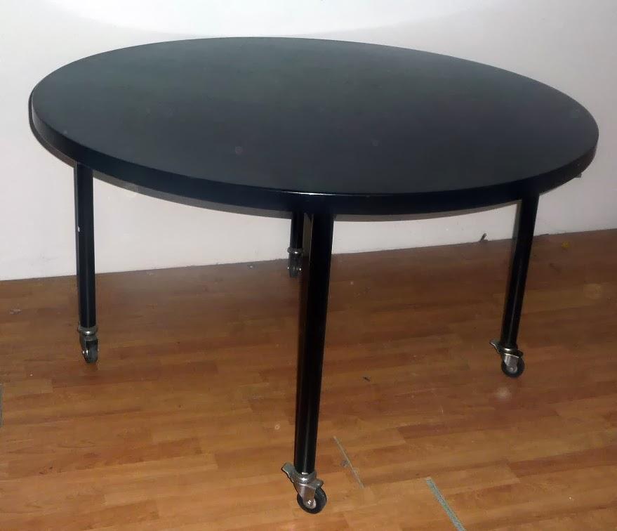L 39 ellisse vintage tavoli e tavolini for Tavolo 40x40