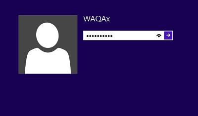 disabilitare password windows 8