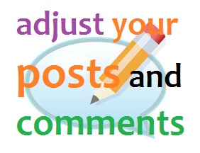Cara Mengatur Postingan dan Komentar pada Blog
