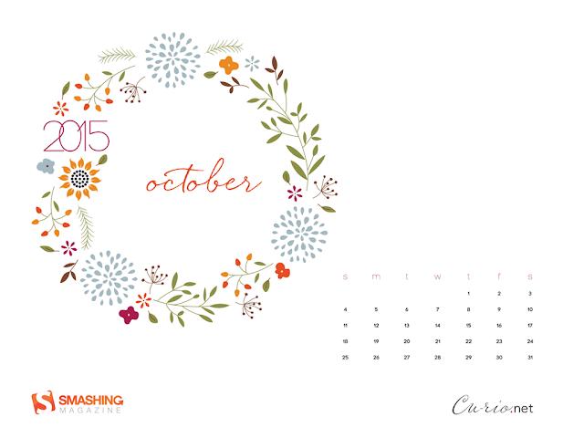 October-Calendar-2015 Designed by Denise Johnson
