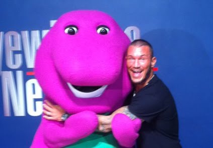 The voice of barney
