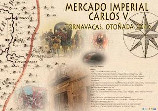 """MERCADO IMPERIAL """"Carlos V"""" (21 de noviembre en Tornavacas)"""