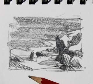 Lowlands Beach thumbnail sketch
