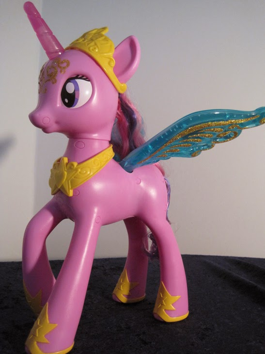 Offside view of My Little Pony Talking Princess Twilight Sparkle.