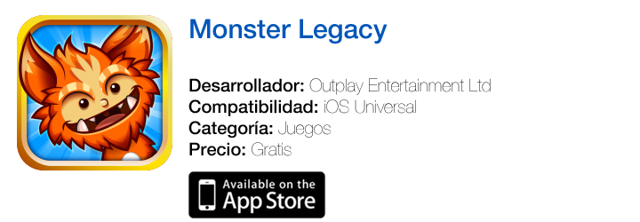 https://itunes.apple.com/es/app/monster-legacy/id652151375?mt=8