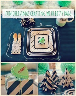 Fun Christmas Crafting With Bitty Bags