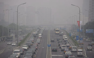 contaminacion en china
