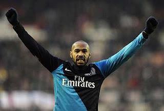Henry se despidió con Gol de su regreso al Arsenal