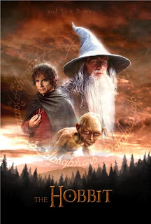 Hobbit Movie: An unexpected journey and there and back again poster