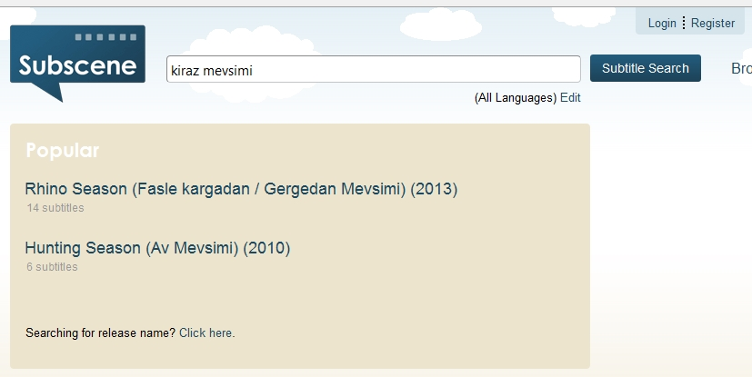 Kiraz Mevsimi Subtitle Indonesia .srt Subscene.com Download