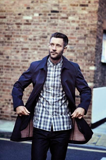 Abrigo y camisa de Farrell para hombre de Primark