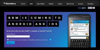 Berita Tentang BBM Untuk Android Dan iOS